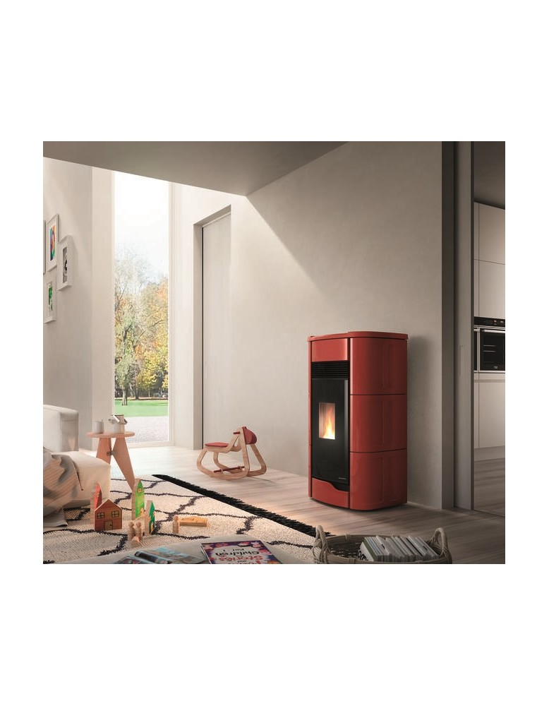 Palazzetti ecofire anna 9 kw for Stufe a pellet moderne palazzetti