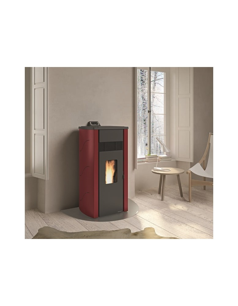 Palazzetti ecofire lia 8 kw for Stufe a pellet moderne palazzetti
